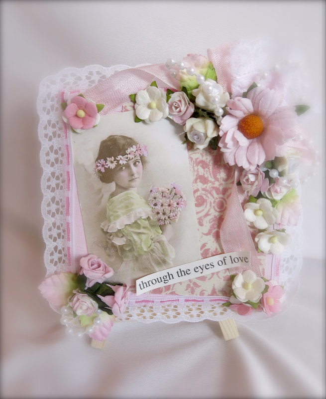 Shabby Chic Mini Canvas
