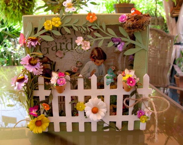 Secret Garden Graphic 45 Shadow Box