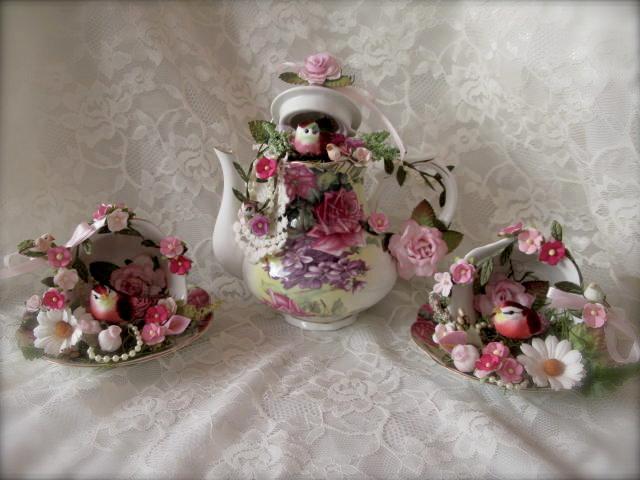 Shabby Chic Tea Set