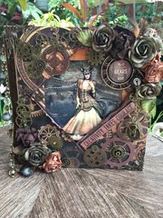 Round Robin Mini Album (Steampunk)