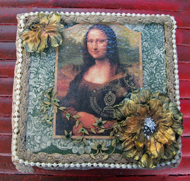 Renaissance (Mona Lisa) Cigar Box