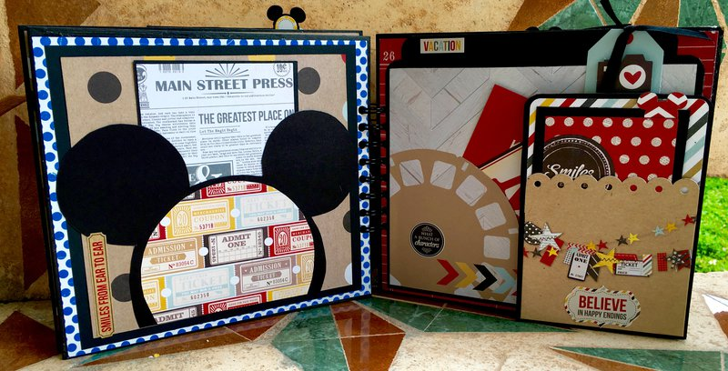 Mickey Mouse Mini Album