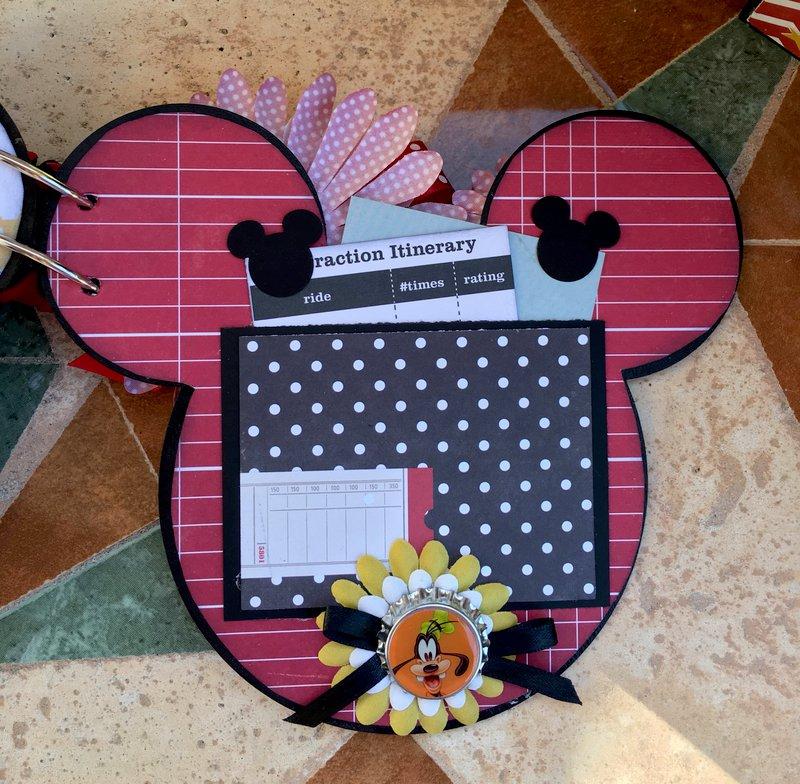 Reversable Mickey Mouse Album