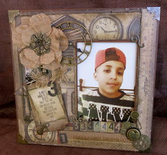 Frame For Grandson