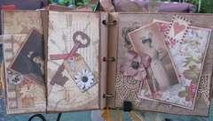 Memory paperbag album pg 3-4
