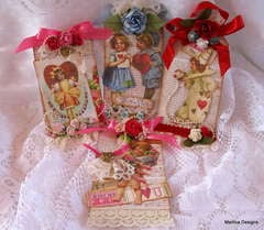 Valentine Tags For Swap....