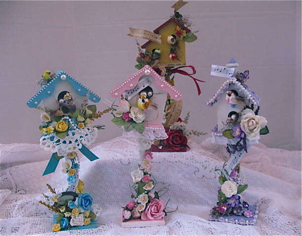 Altered Birdhouses I Created....