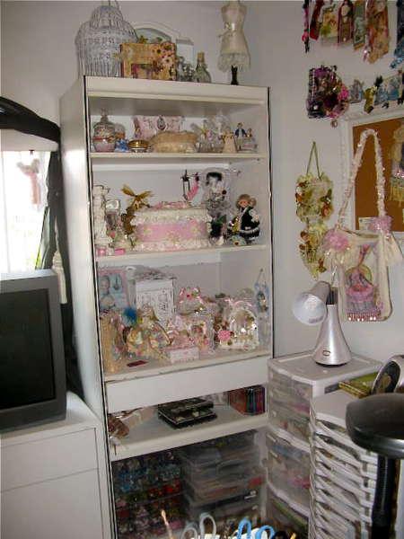 Shelves For Altered Art....