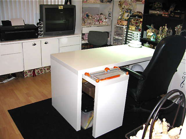 My New Desk.....From Ikea (Malm)