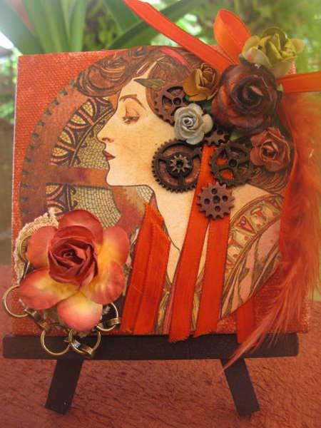 Steampunk Mini Canvas