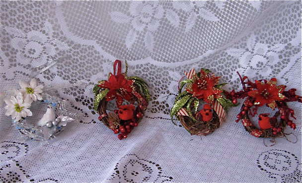 Mini Wreaths Ornaments G45