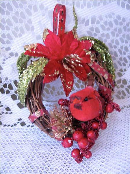 Mini Wreaths Ornaments G45