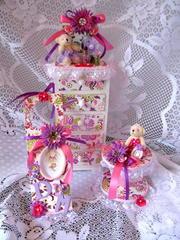 Girly Jewelry Chest Set