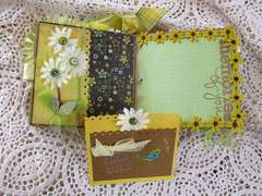 Flowers Paper bag album