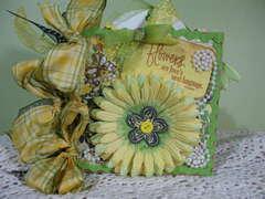 Flower Paper bag album