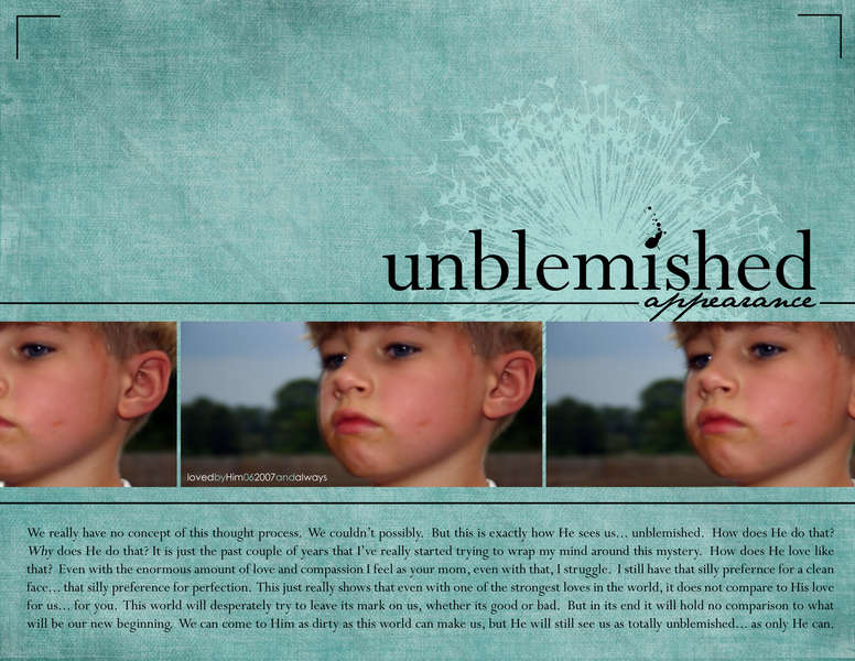 Unblemished Appearance