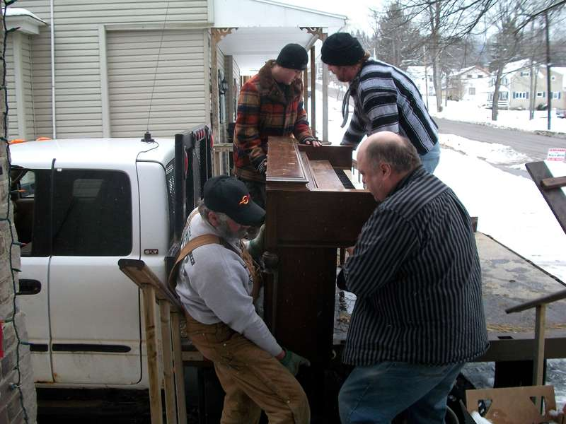 Freecycle Piano  2/27/10