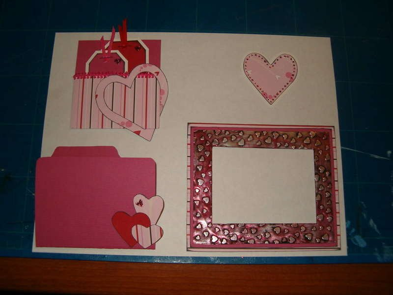 Valentine Mini Page Swap
