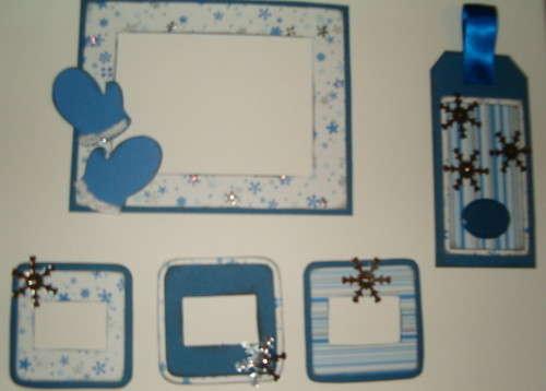 Winter mini page kit swap