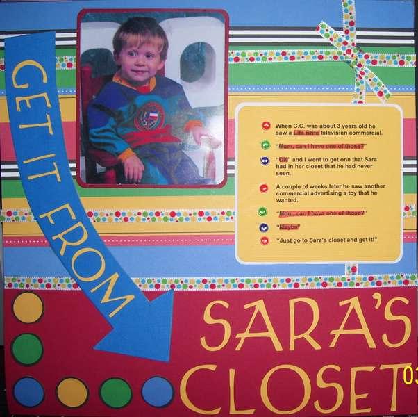 Sara's Closet