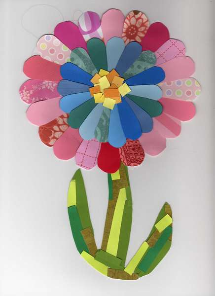 Patchwork Flower