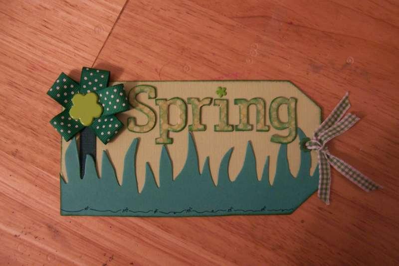 Green Spring Tag