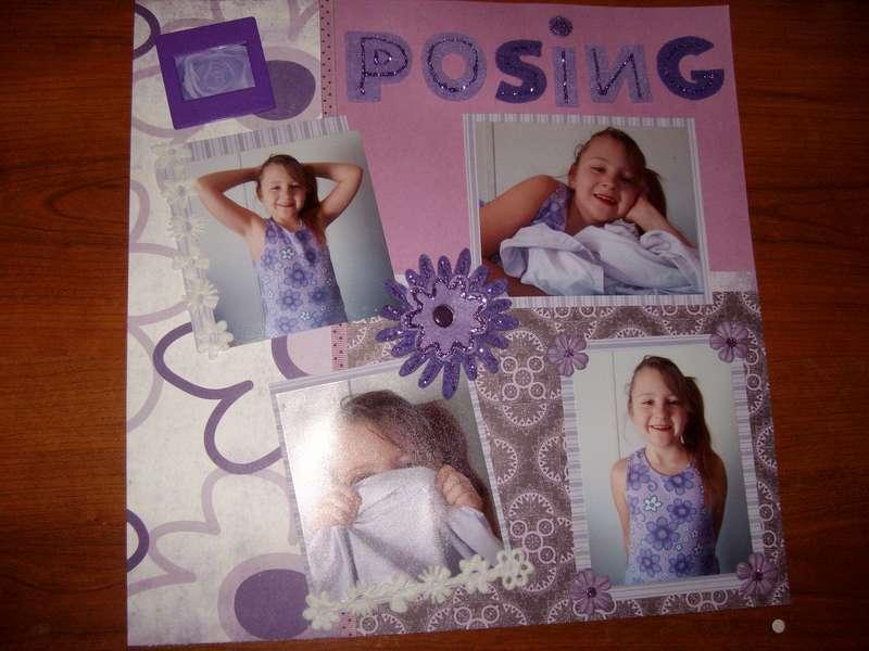 Posing Purple page 1