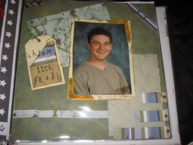Adam- 11th Grade