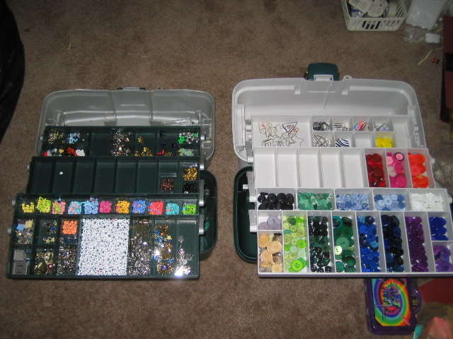 Both of my tackle Boxes