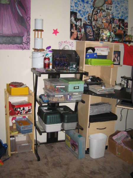 The Left side of my desk