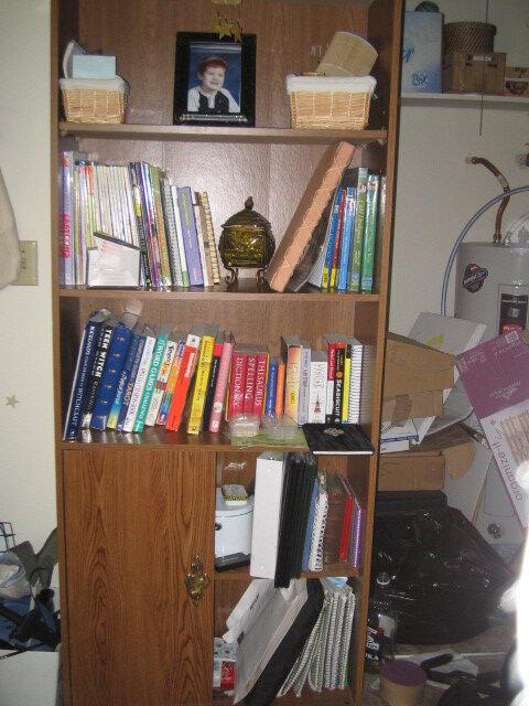 My Bookshelf after I Organized it