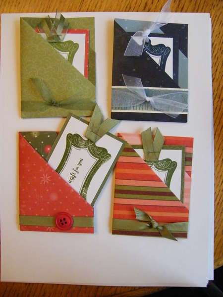 2 Pocket Gift Card Holder