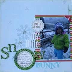 My Little Snow Bunny