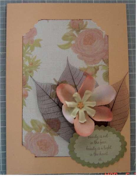 Friendship Beauty Card