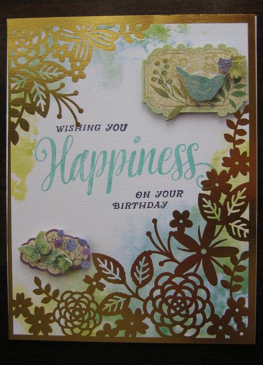 Wishing You Happiness on Your Birthday
