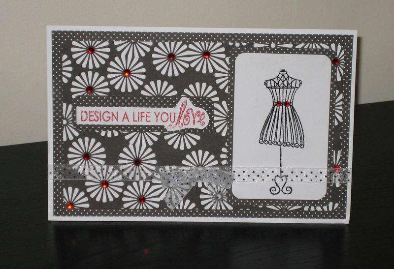"""Design a life"" card"