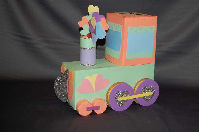 Train Valentine Day Box