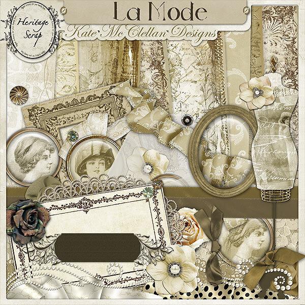 La Mode by Kate McClellan Design