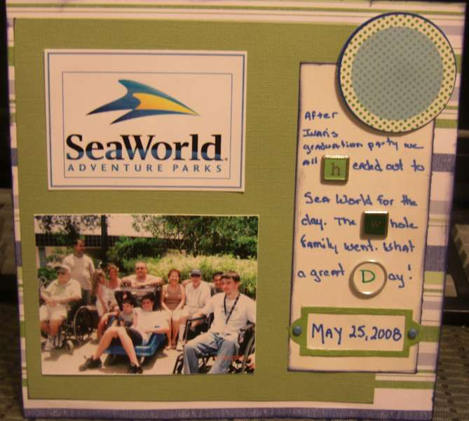 Sea World Family  8x8