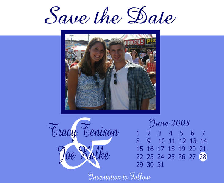 Save the Date Card attempt 2