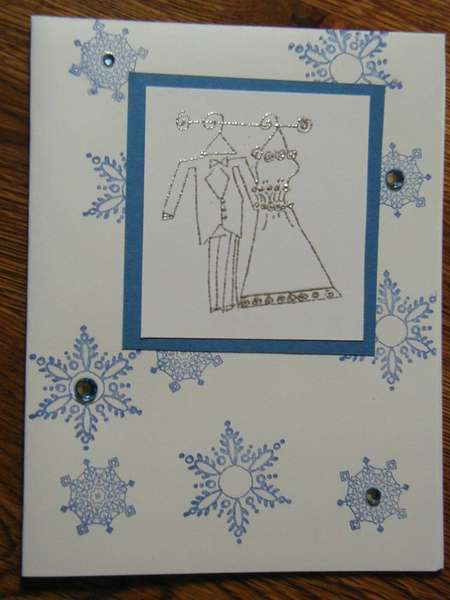 Christmas in July Wedding Shower Card