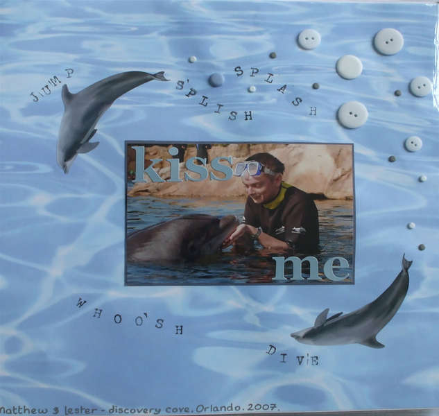 Kiss Me Dolphin