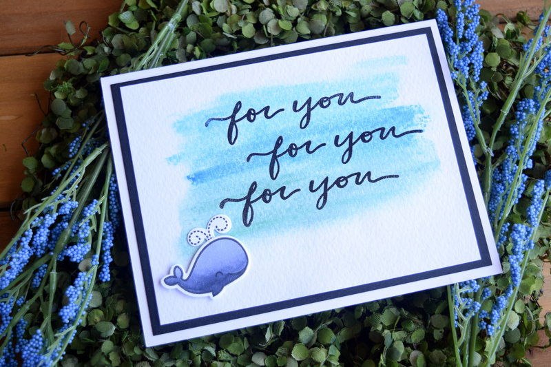 For You Whale Card
