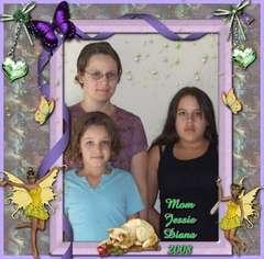 JESSIE, DIANA AND HER MOM