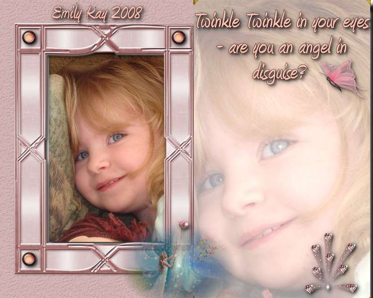 TWINKLE TWINKLE IN YOUR EYES - ARE YOU AN ANGEL IN DISGUISE?