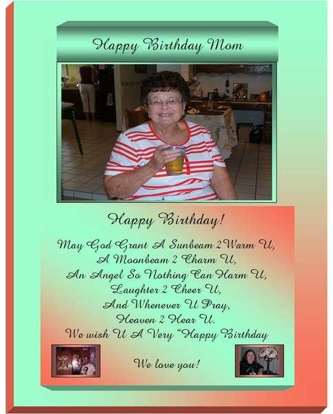 BIRTHDAY CARD FOR MOL IN TUCSON, AZ BEAUTIFUL LADY