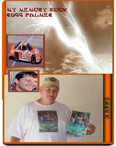 TONY STEWART! YOU ARE COVER OF HUSB MEMORY BOOK!