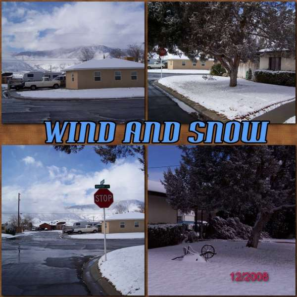 WIND AND SNOW DECEMBER 12, 2008