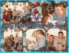 FAMILY PIX - MY HEART WAS FILLED WITH JOY