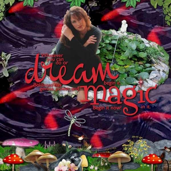 DREAM MAGIC   -   HAPPY BIRTHDAY DEBI